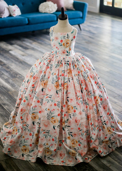 The Lillyanna Gown: Size 8: Ready to Ship