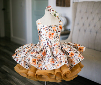 The Traveling Dress Project: The Amber Shortie Gown: Size 6, fits sizes 3-10