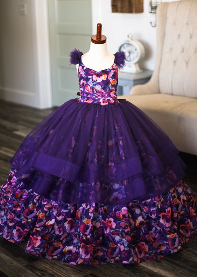 The Traveling Dress Project: The Hailey Gown: Size 6/7 Full Length: fits sizes 5-9
