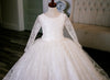 Separate Long Sleeve Jacket for The Winter Princess Gown