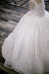 READY to SHIP - The Winter Princess Gown: withOUT a tutu sewn-in