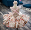 "The Traveling Dress Project: ""Birdie Baby"" Shortie Gown: Size 4 Shortie: fits sizes 2-petite 7"