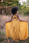 The Danielle Dress: Mustard Yellow