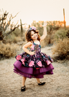 The Traveling Dress Project: The Maya Gown: Shortie style: Size 5, fits 3-7 minimum