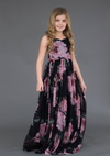 Flower girl dress in floral.