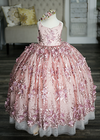 Rent The Cosette Gown - Size 6: fits 4-7yrs