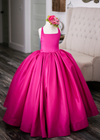 RTS SALE: The Hadley Gown in Fuchsia