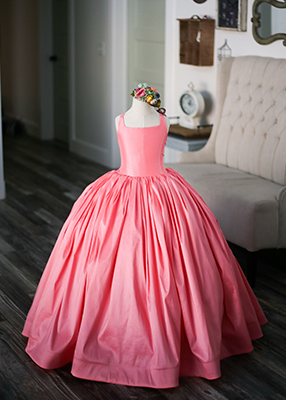 RENT The Hadley Gown in Coral: Size 8, fits sizes 6-10