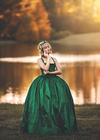 RENT The Hadley Gown in Emerald: Size 14, fits sizes 10-14