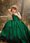 RENT The Hadley Gown in Emerald: Size 8, fits sizes 6-10