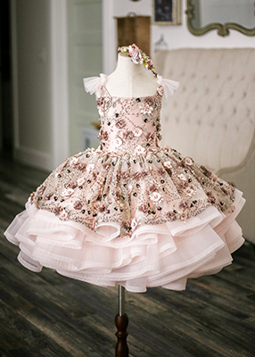 The Traveling Dress Project: The Emma Gown: Shortie Style: Size 6, fits 4-8 minimum