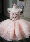 The Traveling Dress Project: The Ella Gown: Shortie Style: Size 4, fits 2-6 minimum