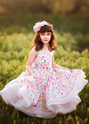Rent The Laurel Gown - Size 6: fits 3-9yrs: Short Length