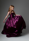 READY to SHIP - The Hadley Gown in Magenta withOUT a Tutu Sewn in!!!
