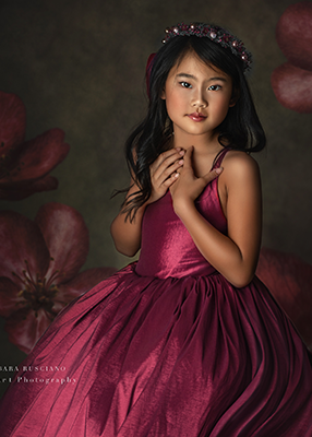 RENT The Hadley Gown in Raspberry: Size 10, fits sizes 8-12