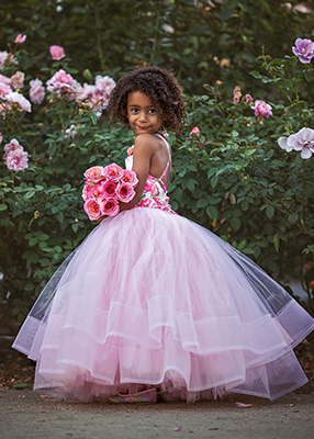 Rent The Rose Gown in Light Pink - Size 3: fits 2-5