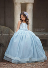The Victoria Gown in Light Blue