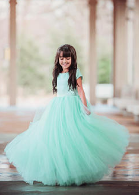 The Sophia Dress: Mint Green