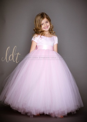 The Sophia Dress: Light Pink