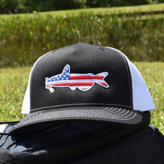 American Flag Catfish Hat - Bucks of America