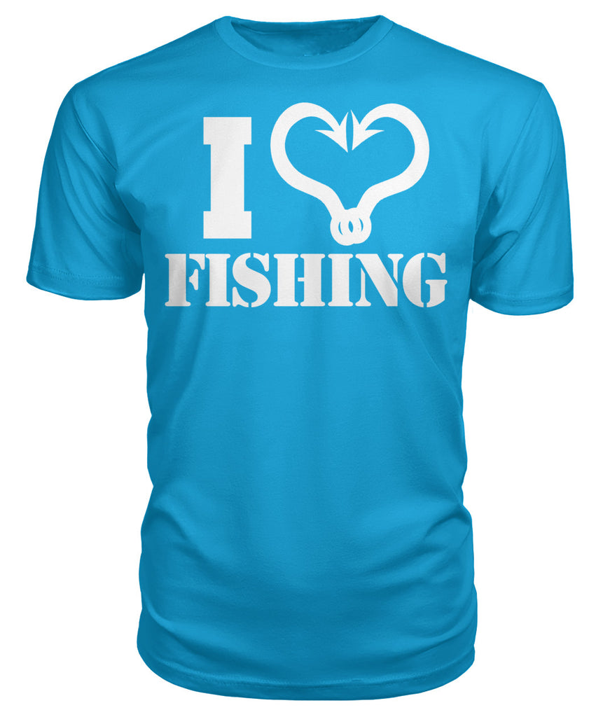 I heart Fishing Tee's