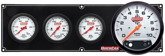 QuickCar Extreme Gauge Panels with Tachometer