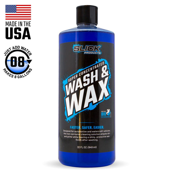 Slick Products Wash & Wax
