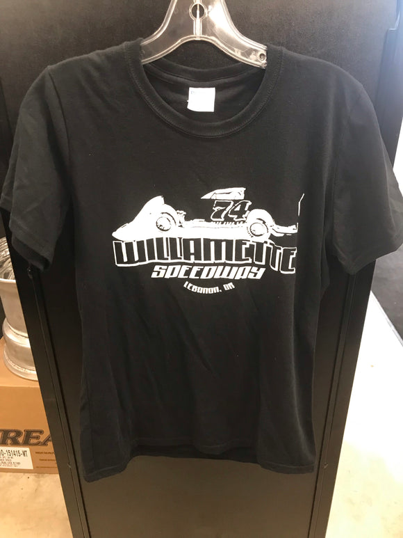Willamette Speedway Logo & Car T-Shirts