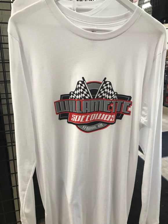 Willamette Speedway Long Sleeve T Shirt