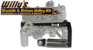 Willy's Throttle Stop & Return Spring Kit