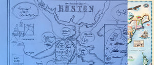 Enter to Win a Free Framed Print of the Boston Map!