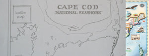 ENTER TO WIN A FREE FRAMED PRINT OF OUR CAPE COD MAP