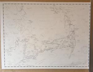 Artistic Map of Cape Cod Coming Soon!