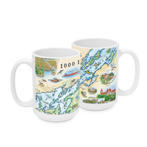 1000 Islands Mugs are a perfect gift for the traveler