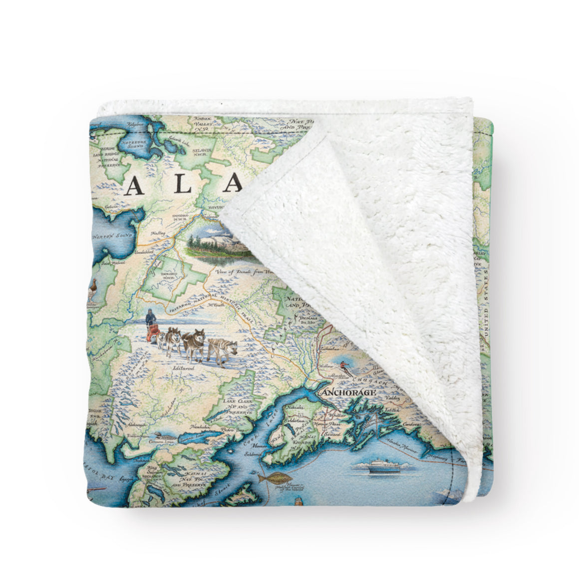 Alaska Fleece Blanket