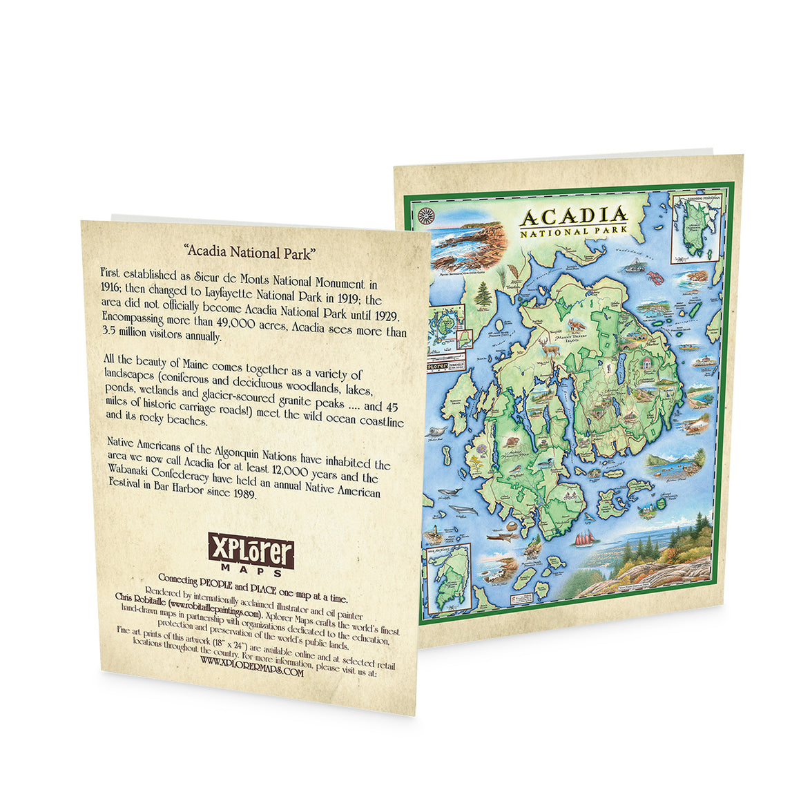 Acadia Notecards ~ Set of 12