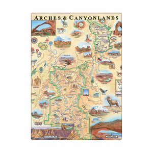 Arches & Canyonlands Magnets