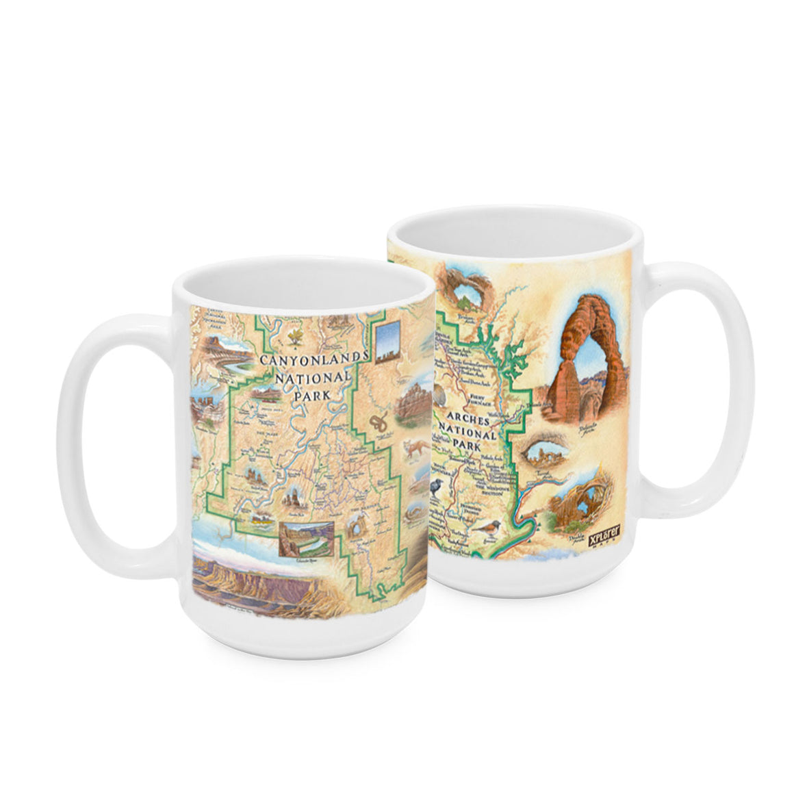 Arches & Canyonlands Mugs Set