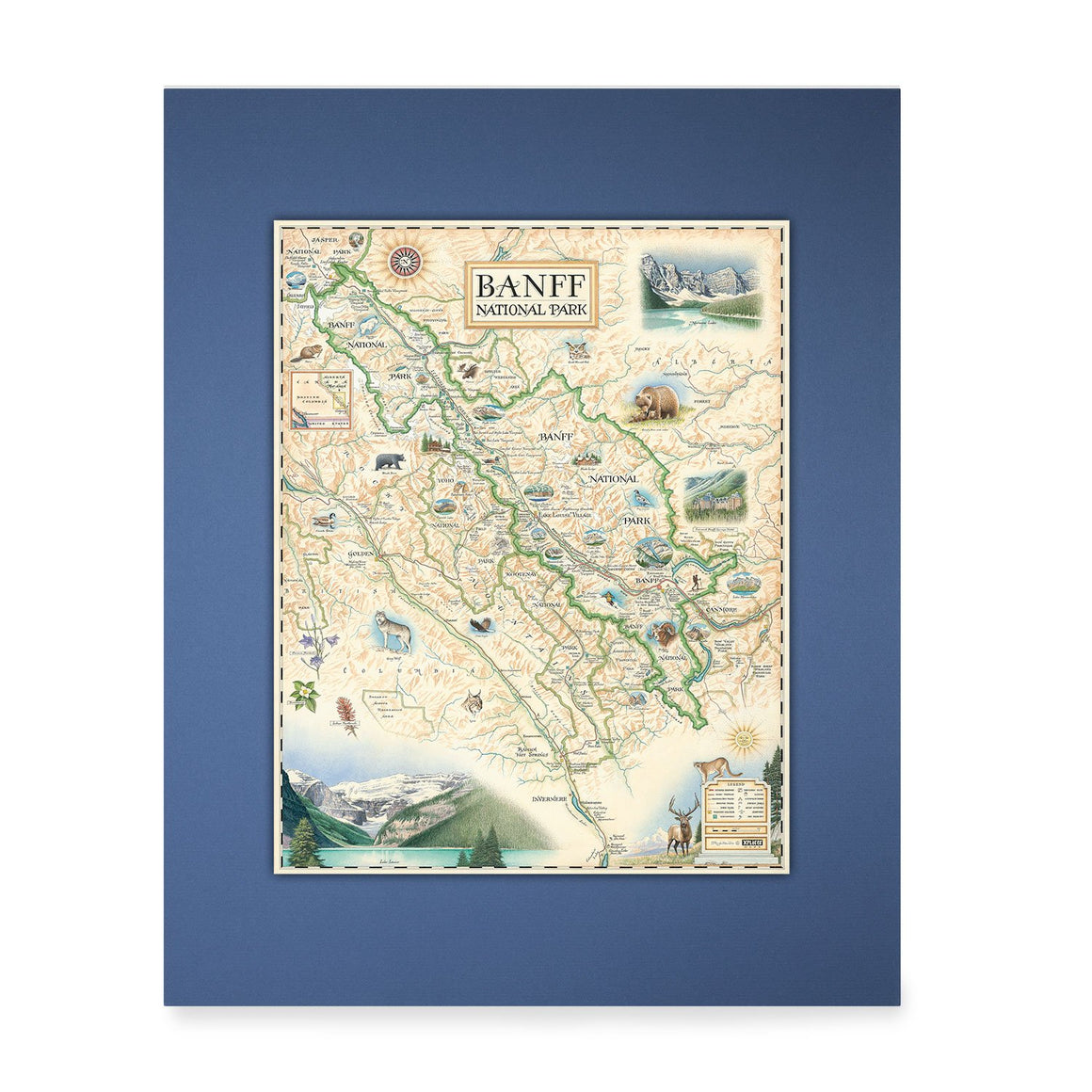 Banff Mini-Map