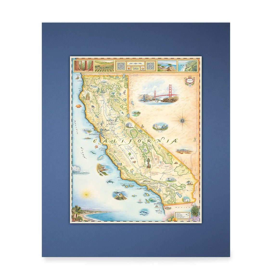 California Mini-Map
