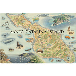 catalina island wood sign