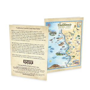 Central California State Parks Notecard Greeting Cards