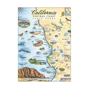 Central California State Parks Magnet