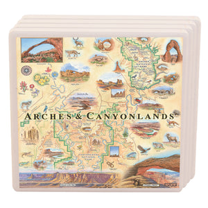 Arches & Canyonlands Coasters