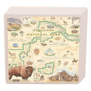 Badlands Coasters