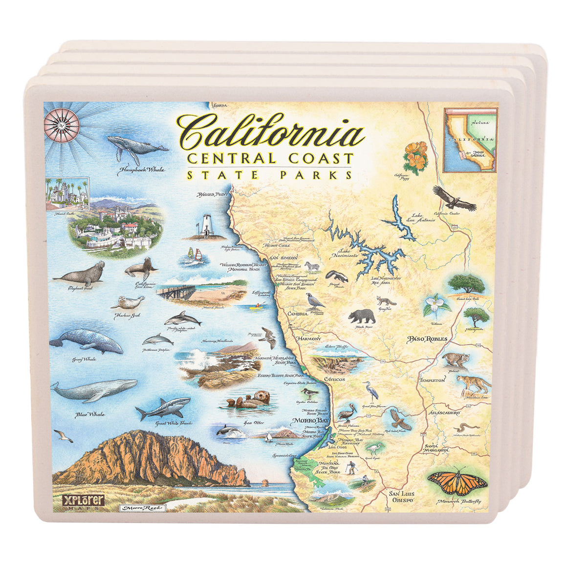 Central California State Parks Coasters