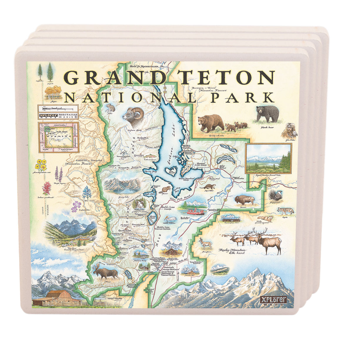 Grand Teton National Park Coasters