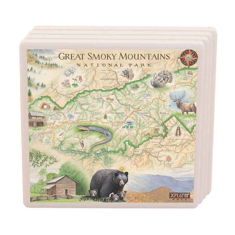 Great Smoky Mountains Coasters