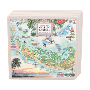 Sanibel Captiva Coasters