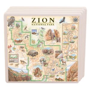 Zion National Park Coasters